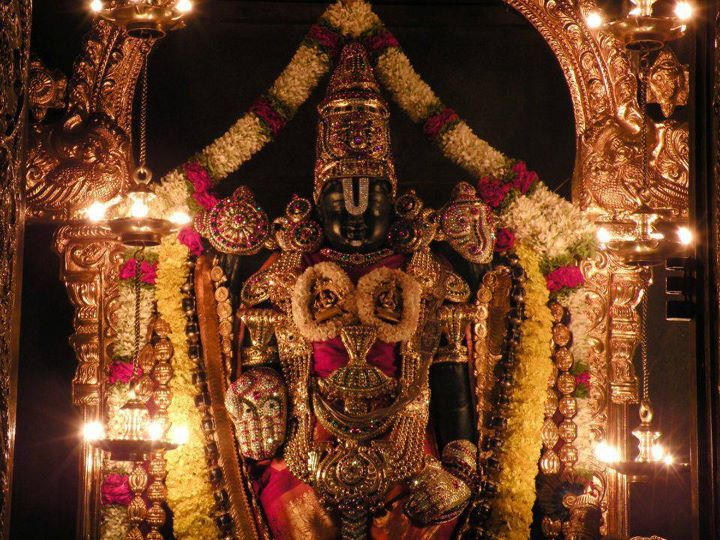 SRI ANAND » Blog Archive » Why venkateshwara swamy's hand posture is